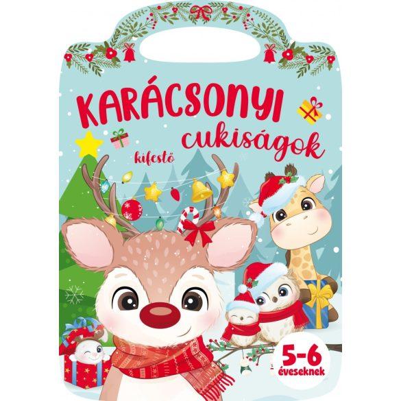 Karácsonyi cukiságok - Kifestő