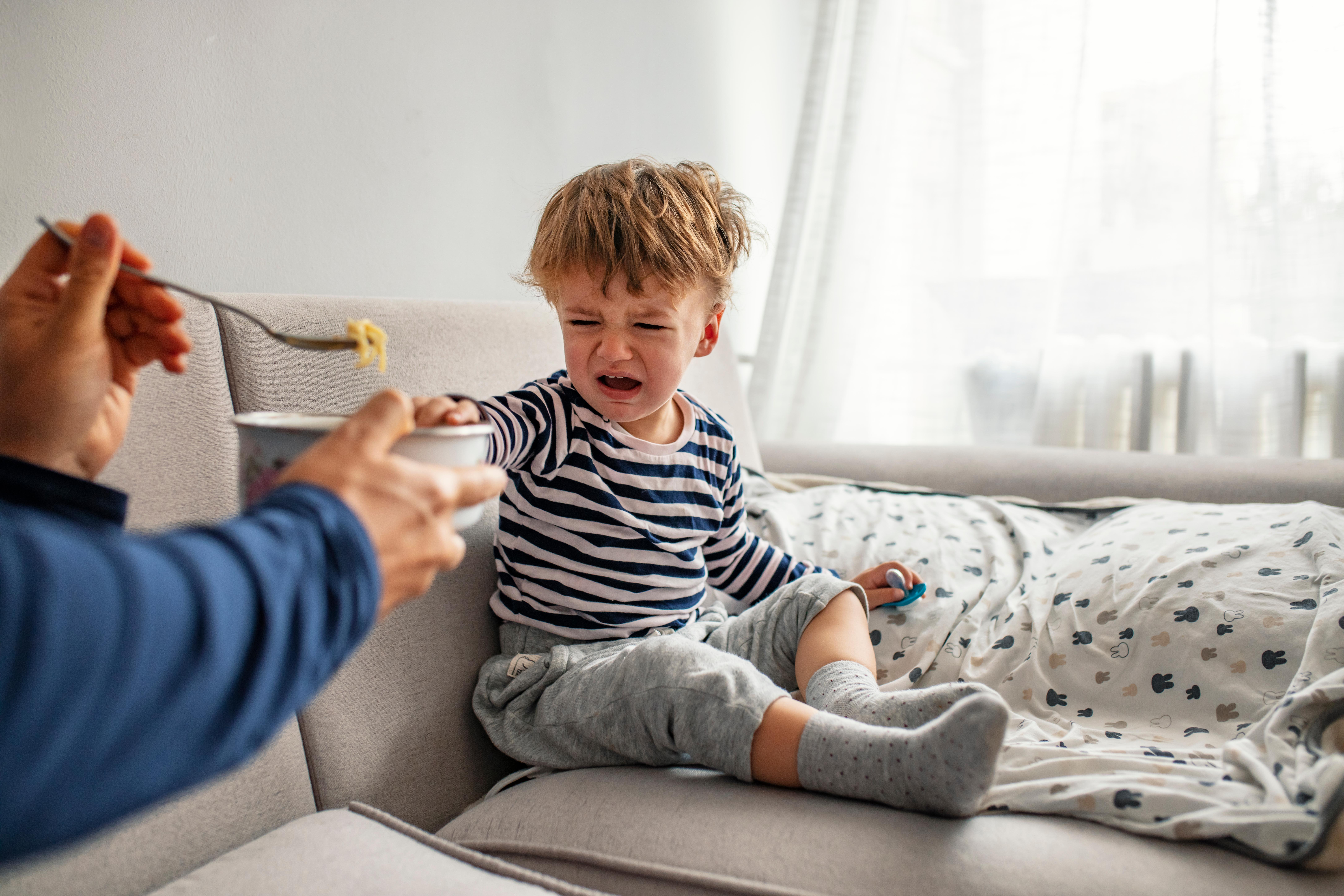 Étkezési problémák - a gyermek nem fogadja el az ételt